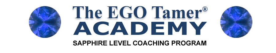 Sapphire Level Coaching Program at The EGO Tamer Academy