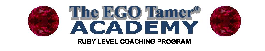 Ruby Level Coaching Program at The EGO Tamer Academy