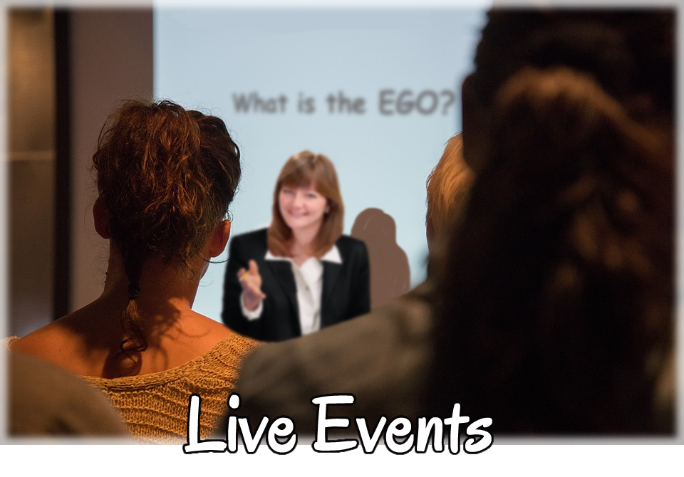 Live Events with Jan Luther, The EGO Tamer